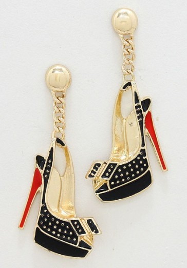 Glitz N Pieces €16.50 - Stiletto Earrings http://bit.ly/1s9vdg2