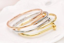 Glitz N Pieces €19 - Naomi Nail Bangle http://bit.ly/1wjHrK2