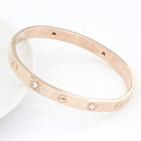 Glitz N Pieces €19.50 - Rose Gold Sparkle Bangle http://bit.ly/1w3mctS