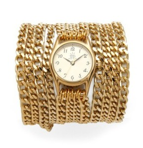 Shopbop € 212.47 - Sara Designs Small All Chain Watch http://bit.ly/1rQegac