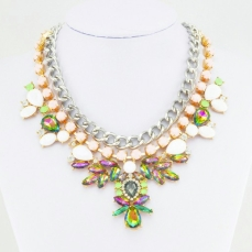 Glitz N Pieces €19 - Sparkle Colourful Necklace http://bit.ly/1w3er7i