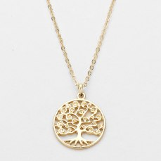Glitz N Pieces €14 - Tree Of Life Necklace http://bit.ly/1AMCuHO