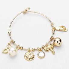 Glitz N Pieces €17.50 - Tropical Charm Bracelet http://bit.ly/1A6zFAo