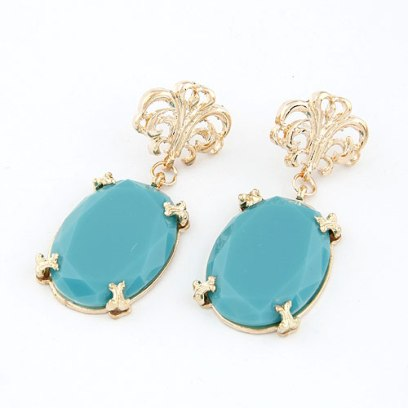 Glitz N Pieces €14.50 - Turquoise Sky Earrings http://bit.ly/1w2RdNq