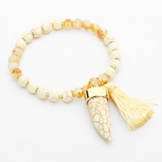 Glitz N Pieces €14.50 - Tusk Tassel Bracelet http://bit.ly/1zCCtVY