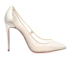 Christian Louboutin €627 - Pigalle Lace http://bit.ly/1IuKAtO