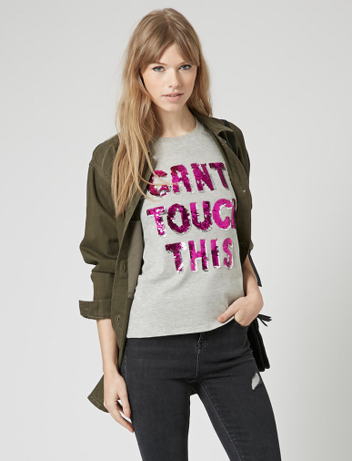 Topshop €32.10 - Can't Touch This Tee http://bit.ly/1wwd5Ok