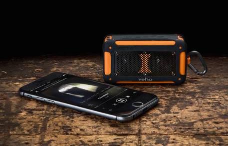 Veho @ The Gadget Shop €49.95 - Mini Vecto Waterproof Bluetooth Speaker http://bit.ly/1C2DvPS