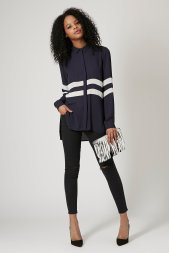 Topshop £38/€48.65 - Two Stripe Shirt http://bit.ly/1xZsbkI