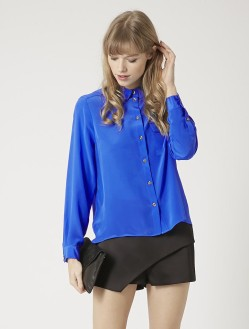 Topshop £65/€83 - Silk Shirt http://bit.ly/1KyZY9I