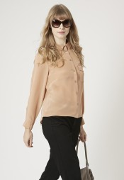Topshop £65/€83 - Silk Shirt http://bit.ly/1B4WNlZ