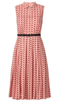 Orla Kiely €390 - Ditsy Shoe Pleated Dress http://bit.ly/14Tm1H2