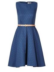 Orla Kiely €420 - Daisy Jacquard Sleeveless Dress http://bit.ly/1IY2LFD