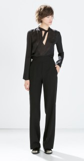 Zara €49.95 - High-waisted wide trousers http://bit.ly/14IOgJ7