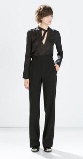 Zara €49.95 - High-waisted wide trousers http://bit.ly/14IOgJ7