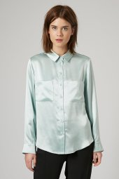 Topshop Boutique £80/€102.40 - Silk Satin Shirt http://bit.ly/1DylfhI