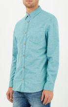 River Island €33 - Green Yarn Oxford Shirt http://bit.ly/1BqbFdD