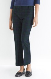 Oasis €50 - Navy Check Trouser http://bit.ly/1yUQWA4