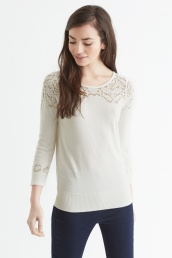 Oasis €44 - Pointelle Detail Cute Jumper http://bit.ly/1ICCcpq