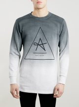 Topman €53.80 - Antioch Black Logo Sweatshirt http://bit.ly/1JJ2Qxx