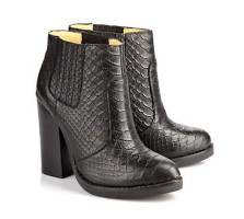 Buffalo @ Arnotts €150 - Jolie Block Ankle Boots Croco Black http://bit.ly/15y3dxk
