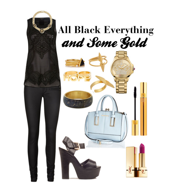 Killer Fashion All Black & Gold