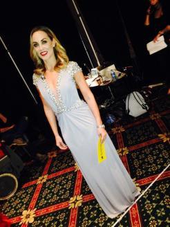 Kathryn Thomas wearing Jovani @ Caris Closet