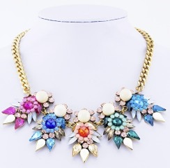 Glitz N Pieces €21.50 - Bejewelled Necklace http://bit.ly/1CqiCg9