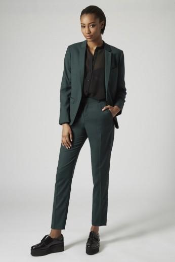 Topshop Premium £65/€83 - Suit Blazer £35/€45 - Trousers http://bit.ly/1xcUIxQ