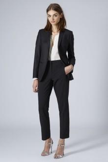 Topshop Premium £65/€83 - Tailored Suit Blazer £22/€28 - Cigarette Trousers http://bit.ly/1xcTUJs