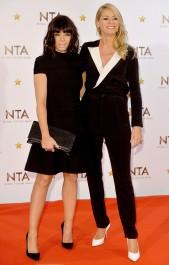Claudia Winkleman & Tess Daly