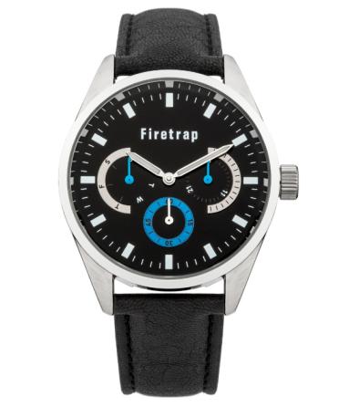 Firetrap €75 - Gent's black strap watch http://bit.ly/1tdLvKJ
