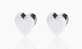 Edge Only by Jenny Huston €79 - Heart Earrings (Pre-order) http://bit.ly/1B58KH8