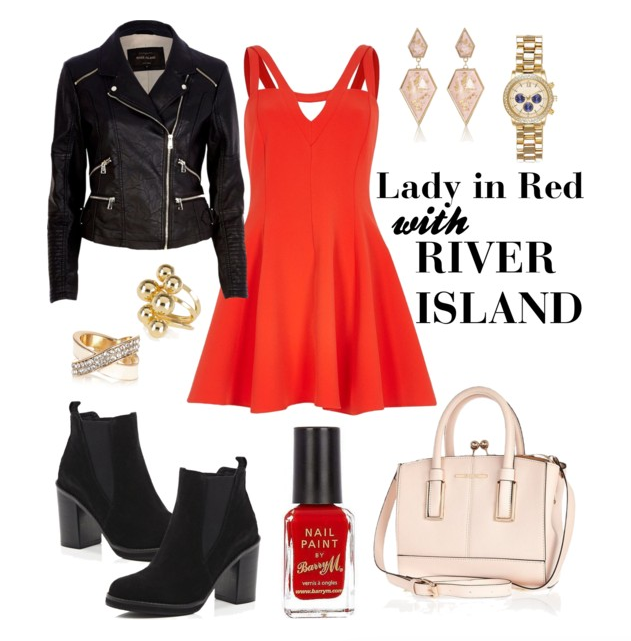 Lady In Red: River Island