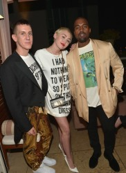 Jeremy Scott, Miley Cyrus, Kanye West