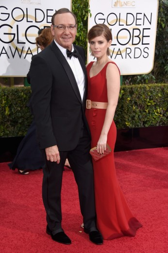 Kevin Spacey & Kate Mara
