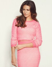 Lipsy €46.80 - Michelle Keegan Knitted Crop Jumper http://bit.ly/1C2fGHZ