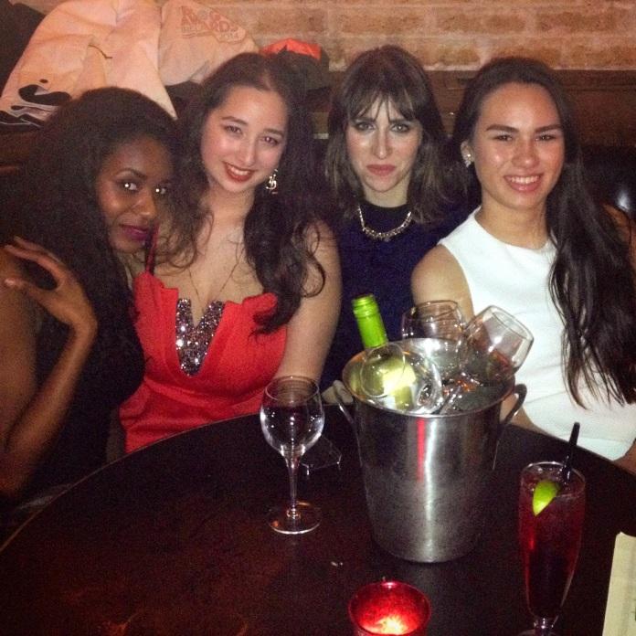 Filomena, myself, Kassi & Mei Ling