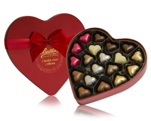 Butlers €14 - Valentine's Red Heart Tin Assortment http://bit.ly/1D6K6pt
