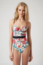 Topshop €49.95/£36 - Pop Floral Swimsuit http://bit.ly/1JS8z9z