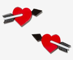Nasty Gal €33.19 - Melody Ehsani Shot Through the Heart Earrings http://bit.ly/1zJm98V
