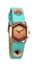 Rumba @ Topshop €55/£40 - Ladies TriBeCa Light Blue Watch http://bit.ly/1vGeW9A
