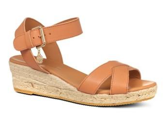 Kurt Geiger €150 - Libby Wedge Sandals http://bit.ly/1vBM2an