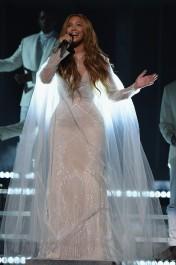 2015 Grammys - wearing Roberto Cavalli Atelier