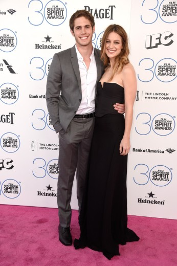 Blake Jenner & Melissa Benoist