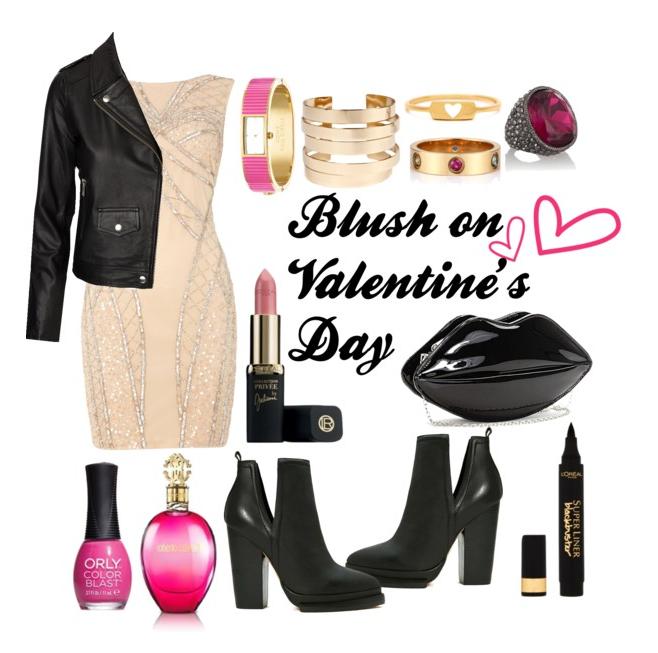 Blush on Valentine's Day
