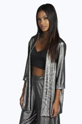 Boohoo from €20 - Nina Metallic Co-Ords Suit http://bit.ly/1MX4zqa // http://bit.ly/1MKGY5w