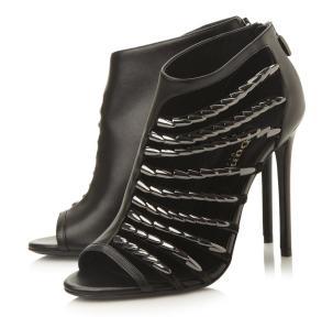 Dune €300 - Cayla Leather Peep Toe Sandals http://bit.ly/1HzjGUb
