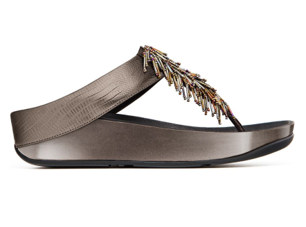 Fitflop €99.99 - Chacha Pewter http://bit.ly/1wiHKQg