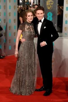 Hannah Bagshawe & Eddie Redmayne